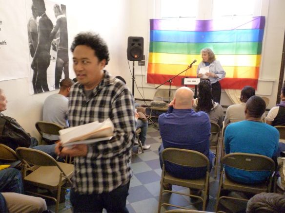 Poetry Salon: Regie Cabico, Vittoria repetto (Reading)