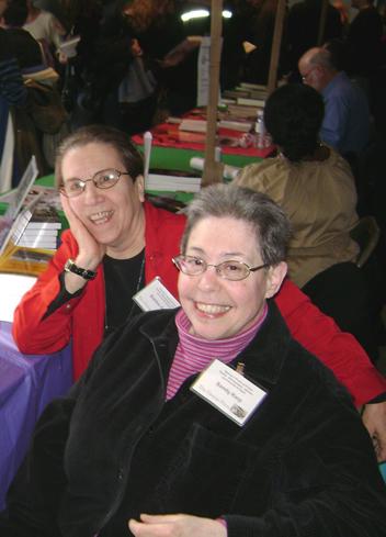 The Graeae Press—Bobbie Geary, Sandy Karp, photo by Jen Stahl
