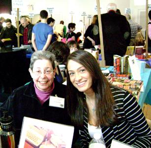 The Graeae Press—Sandy Karp, Jen Stahl, photo by Bobbie Geary