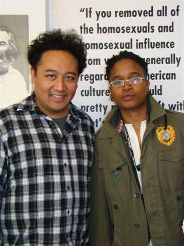 Poetry Salon 2011—Regie Cabico and Arianne Benford