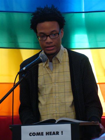 Poetry Salon 2011—Rickey Laurentiis