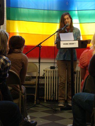 Poetry Salon 2011—Stephanie Gray