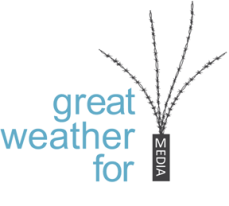 great weather for MEDIA-logo