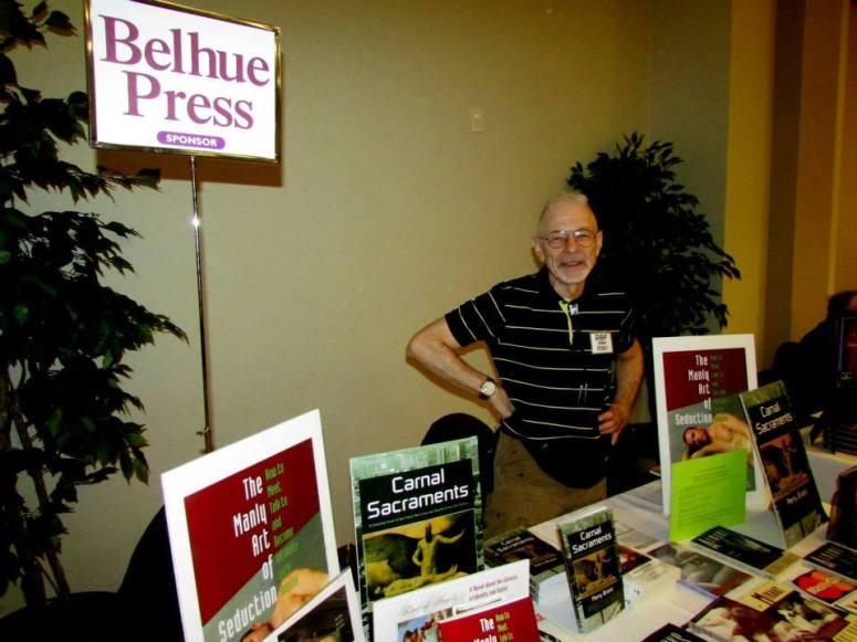 RBF6—Exhibitions, Perry Brass, Belhue Press Photo by Jon Nalley