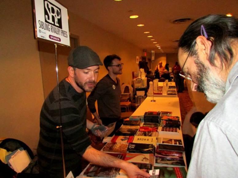 RBF6—Exhibitions, Sibling Rivalry Press, Bryan Borland Photo by Jon Nalley