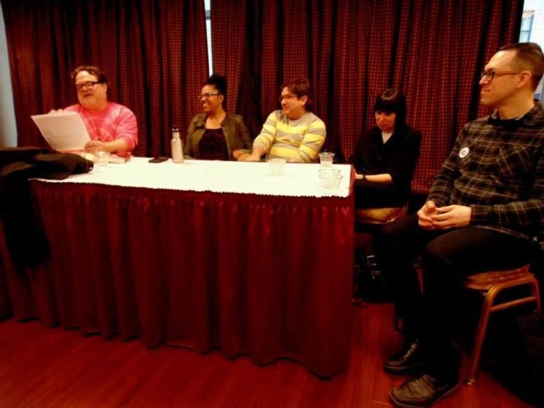 RBF6—Panel, Sappho and Whitman's Children Photo by Jon Nalley