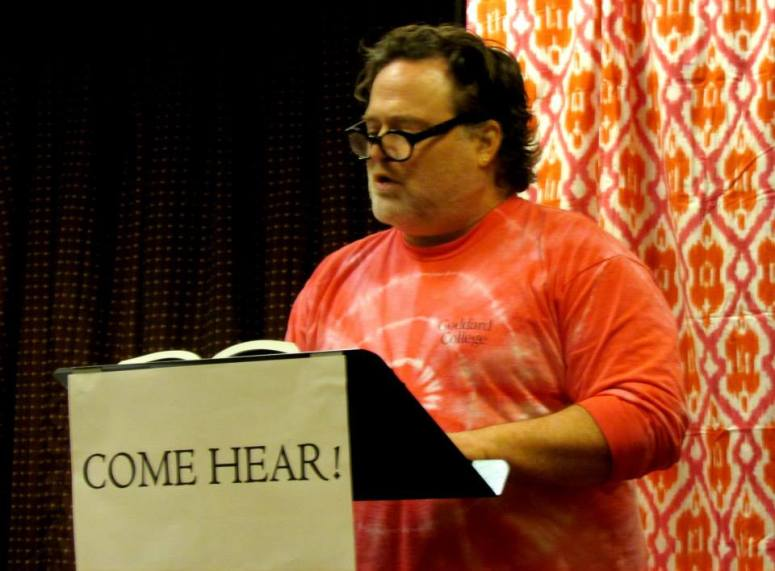 RBF6—Poetry Salon, Michael Klein Photo by Jon Nalley